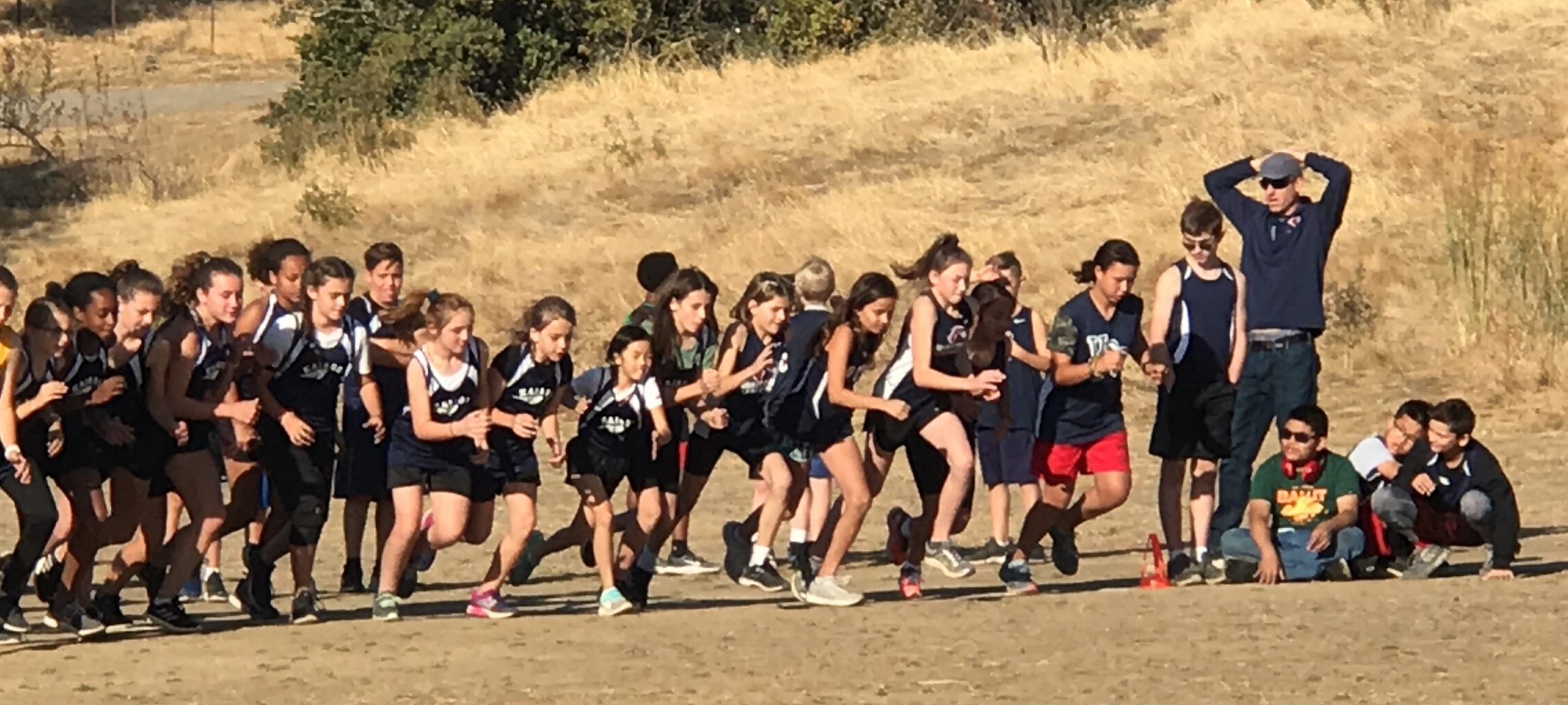 VCS middle school cross country