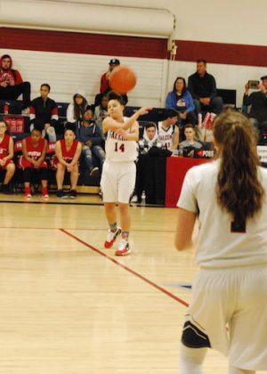 VCS girls basketball game