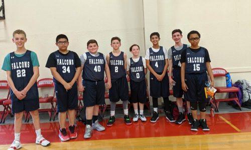 VCS Middle School Basketball Blue Team image
